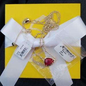 Kendra Scott Arleen Tiger's Eye Bordeaux necklace